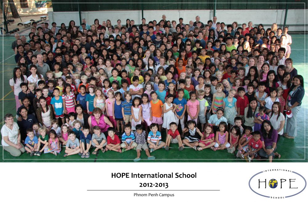 HOPE International School - 2012 to 2013