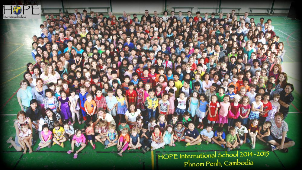 HOPE International School - 2014 to 2015